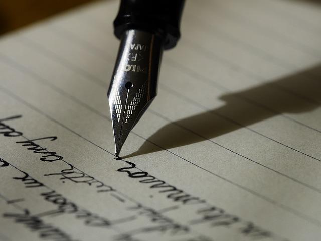 Prendre soin de son stylo plume
